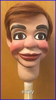Professional ventriloquist figure head, Jerry Mahoney by Jerry Layne, Must see