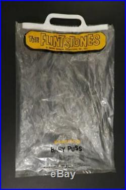 R. DAKIN Baby Puss The Flintstones Hanna Barbera Figure Mint + Bag Hong Kong 1971