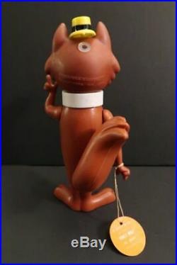 R. DAKIN Hokey Wolf Hanna Barbera Vinyl Figure Mint + Bag Hong Kong 1971