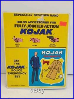 RARE 1976 KOJAK Action figure 8 VTG TV Show 1976 Excel Toy MINT CARDED