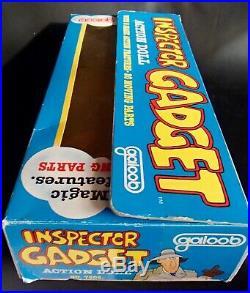 RARE 1983 Galoob 12 INSPECTOR GADGET Vintage action Figure Toy Doll VHTF! MIB