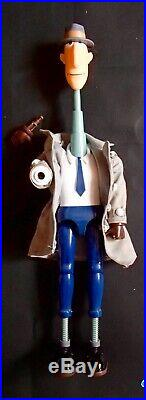 RARE 1983 Galoob 12 INSPECTOR GADGET Vintage action Figure Toy Doll withbox mib