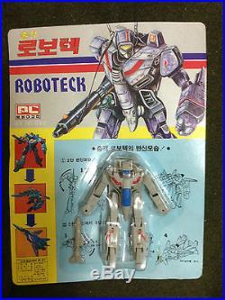 RARE 90'S Vintage Robotech Macross VF-1J Korea Figure Doll Toy Model Japan Anime