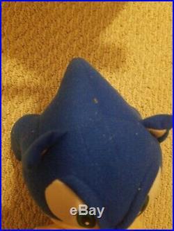 RARE VTG 12 Sonic X Plush Stuffed Doll Toy Figure Project Hedgehog GE Animation