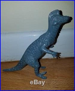 RARE Vintage 1960s White Post gift shop toys dinosaur figures lot dinosaur land