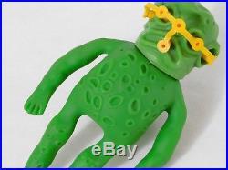 RARE Vintage 1981 Ooze-It Slime Monster The Original Ooze-It-Inc Figure Toy 80s