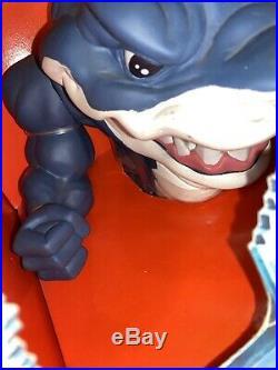 RARE Vintage 1994 Mattel Street Sharks Ripster Figure Hand Shark Puppet NRFB Toy