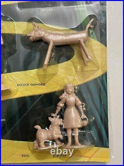 RARE Vintage Aurora OZ-KINS Wizard of Oz Plastic Figures Complete Set 1967 MOC