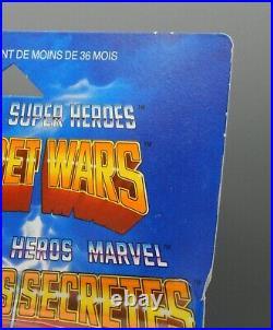 RARE Vintage Mattel MARVEL Secret Wars CONSTRICTOR Figure SEALED Toy MOC Europe