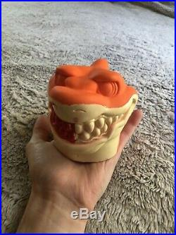 RARE Vintage Street Sharks Prototype Figure Toy Injection Mold 90s Collectible
