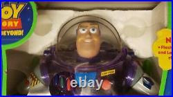 RARE Vintage Toy Story Interstellar Buzz Lightyear 1999 Purple Box Disney Pixar