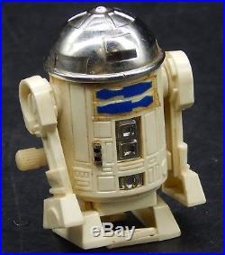 RARE vintage Star Wars R2-D2 windup figure Japanese toy Takara Japan 1970's