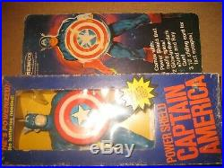 REMCO CAPTAIN AMERICA 12 inch action figure toy in original package/ box vintage