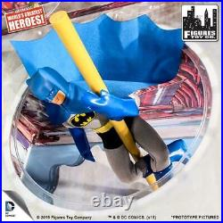 RETIRED 2015 Figures Toy Co. Vintage Style Mego 8 Figure Batman BATCAVE DC New