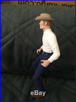 Rare Hartland Rifleman Figure Custom Painted Lucas Mccain Chuck Connors Cowboys