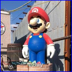 Rare Nintendo Mario Life-size Jumbo figure Free shipping Vintage Retro toy Japan