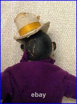 Rare Schoenhut Humpty Dumpty Circus Wood Doll Dude Figure with Original Box