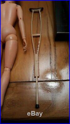 Rare Toy 1967 Vintage Gi Joe Gi Action Girl Nurse Female Doll Figure