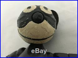 Rare Vintage 1922 Pat Sullivan Felix The Cat 8in Wood Jointed Figure Toy