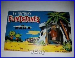 Rare Vintage 1961 Marx Tinykins postcard Miniature playset figures disneykins