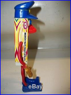 Rare Vintage Beechnut Fruit Stripe Gum Bendy Police Toy Figure