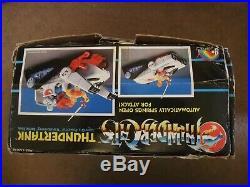 Rare Vintage Thundercats Thundertank Vehicle LJN Figure toy complete boxed