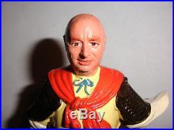 Rare unique Louis Marx Genghis Khan as himself 5.75 plastic figure toy
