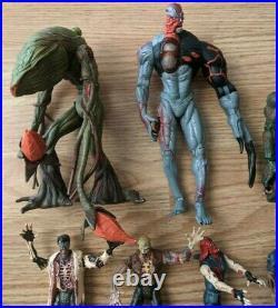 Resident Evil action figure Huge lot 90s toybiz capcom vintage toys zombies
