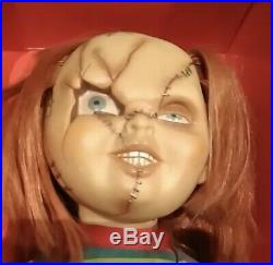 SIDE SHOW TOY BRIDE CHUCKY Tiffany Doll Figure 3body set vintage