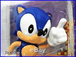 SONIC THE HEDGEHOG 1991 FLEXI-FRIEND Bendy Toy Figure 1990s SEGA Vintage Tomy