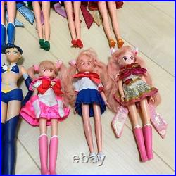 Sailor Moon Vintage Figure Doll 13 Set Very Rare Japan Girl Toy Collection