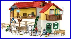 Schleich Large Farm House New Toys Action Figure, Toy