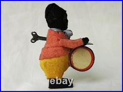 Schuco Copy Drumming Figure Tin Toy Dance Figure Rare