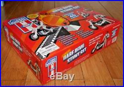 Sealed Evel Knievel Deluxe Dare Devil Stunt Set Cycle Figure Energizer C655