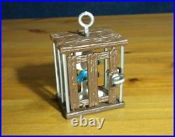 Smurfs 40212 Cage Smurf Jail Vintage Figure Schleich PVC Toy Figurine Lot 80s