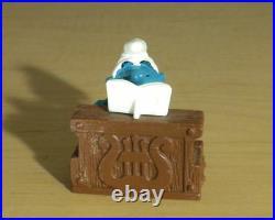 Smurfs 40229 Piano Smurf Rare Vintage Figure PVC Music Figurine Schleich Toy Lot