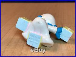Smurfs Baby Smurf Pastel Blocks Hong Kong Rare Vintage Schleich Toy Figure 20214