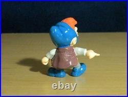 Smurfs Scruple Smurf 20420 Gargamel Nephew Rare Vintage Figure PVC Toy Figurine