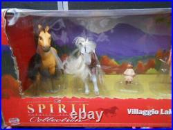Spirit Stallion Cimarron wowwee Collection Villaggio Lakota Horse Figure Set