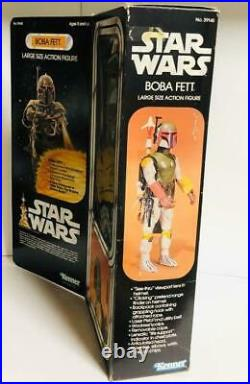 Star Wars Vintage Boba Fett 12 inch Action Figure Toy Kenner USA American(OO572)
