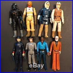 Star Wars figures lot 1977 1980 Kenner Vintage toys read description vint