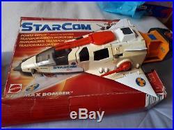 Starcom Vintage Toys Job Lot Bundle. Vehicles + Figures