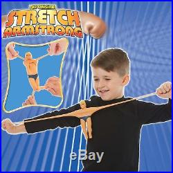 Stretch Armstrong Toy Figure 7 Inch Durable Kids Fun Strong Easy Clean Super