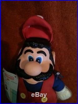 Super Mario Bros 2 Nintendo Figure Vintage PLUSH TOY DOLL 1989 NES Video Game VG