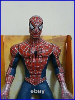 Super Rare Vintage 30 Inch Poseable Spider-Man 2 Figure By Toy Biz 2004 BNMIB