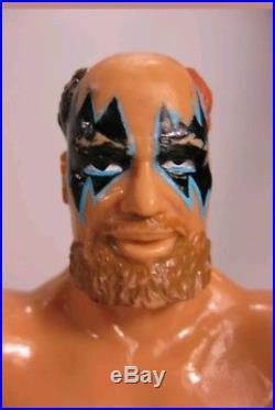 THE WARLORD Rare 1989 WWF LJN Wrestling Figure VTG WWE WCW AWA Titan Grand Toys