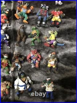 TMNT Vintage Action Figure Lot Teenage Mutant Ninja Turtles Playmates 90s Toy OG
