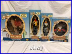 TOY STORY ROUNDUP YOUNG EPOCH VINTAGE FIGURE VERY RARE Lot 4 Set Disny Pixar