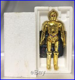 Takara die-cast C3PO missile firing figure vintage Japanese Star Wars toy with BOX