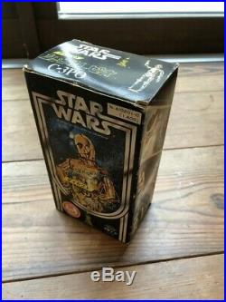Takara die-cast C3PO missile firing figure vintage Japanese Star Wars toy xx3